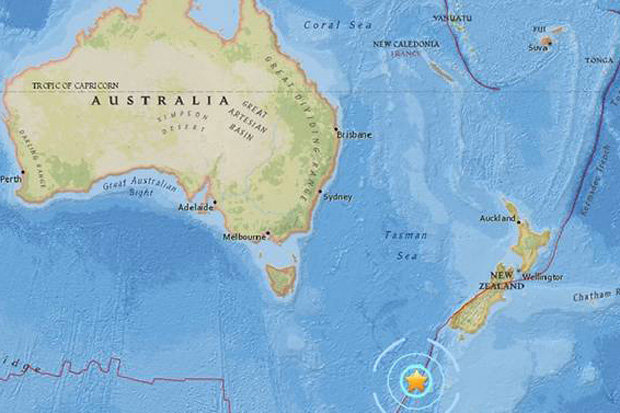 Earthquake in New Zealand