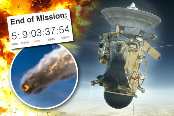 NASA reveals Cassini death dive: Probe WILL enter gas ...