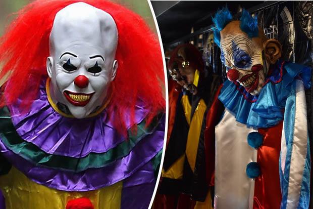 killer clown split