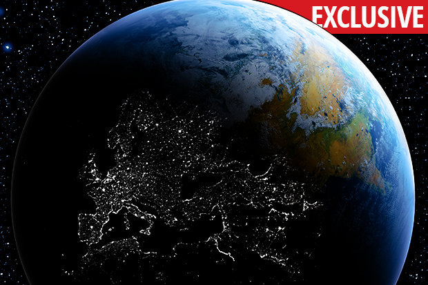 Conspiracy theorists believe the Earth will look like this