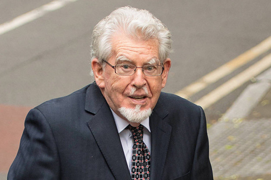 Rolf Harris Arrives At Court Three Days After Release From