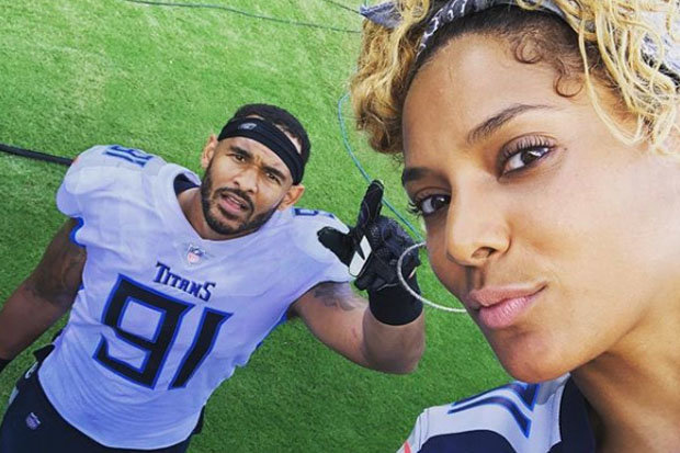 Tennessee Titans Turned Vegan By Derrick Morgans Stunning Wife Daily Star