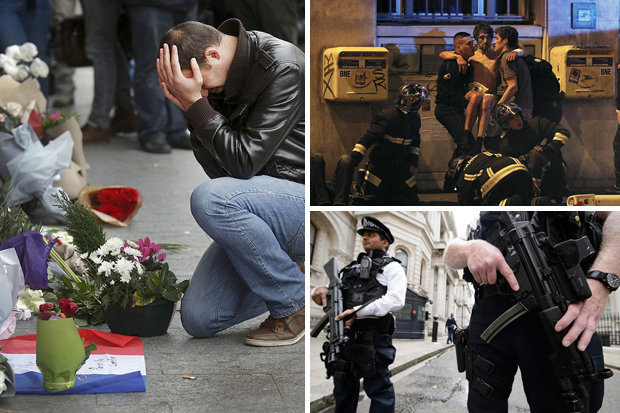 Paris attacks and armed police