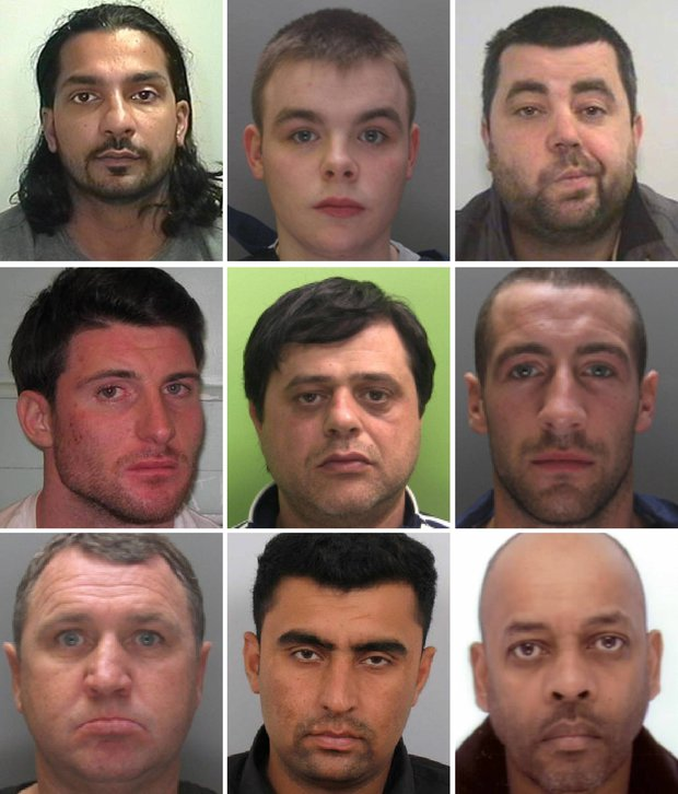 Nine of 'most wanted' criminals may have fled to Britain
