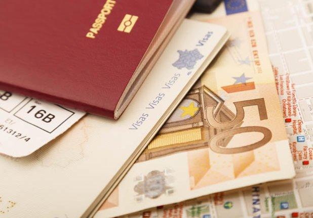 Passports and Euros