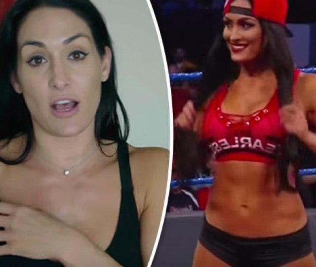 Wwe Wrestling Star Nikki Bella Reveals Wrestlemania  Shorts