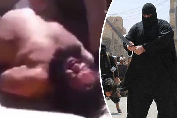 ISIS Bulldozer executioner