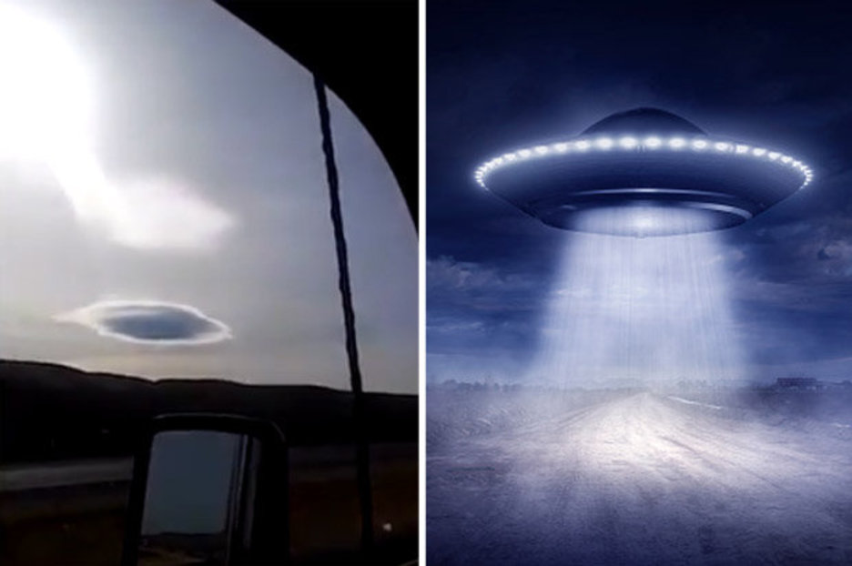 Everybody has seen the patterson footage, if they know it or not. UFO sighting news: UFO 'hidden within a cloud' stuns ...