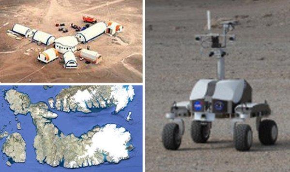 NASA Rover hoax Claims footage filmed on Devon Island