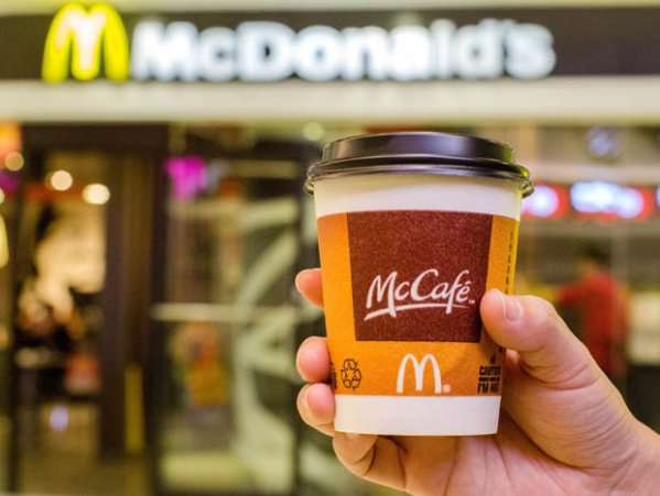 McDonald's have stopped serving mocha from its McCafe ...