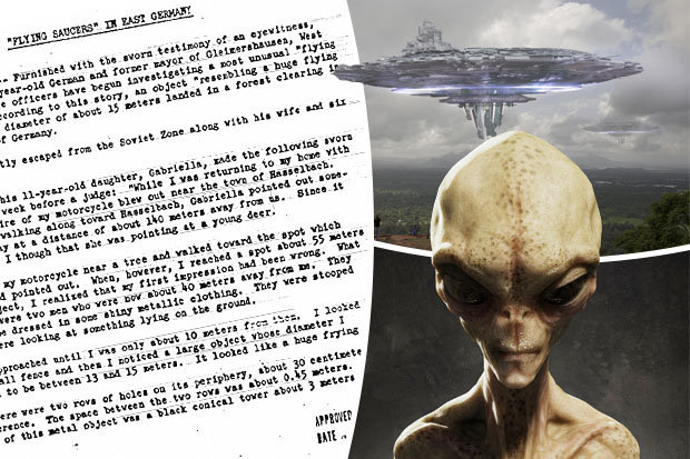 Image result for CIA UFOs