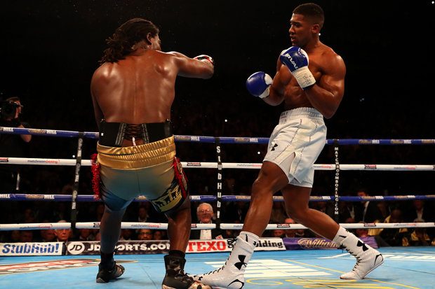 Charles Martin fights Anthony Joshua at London's O2