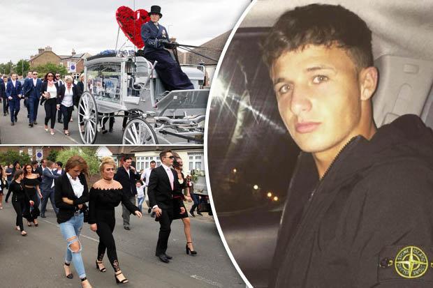Quhey Saunders funeral