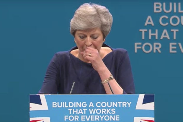 theresa may conservative party conference