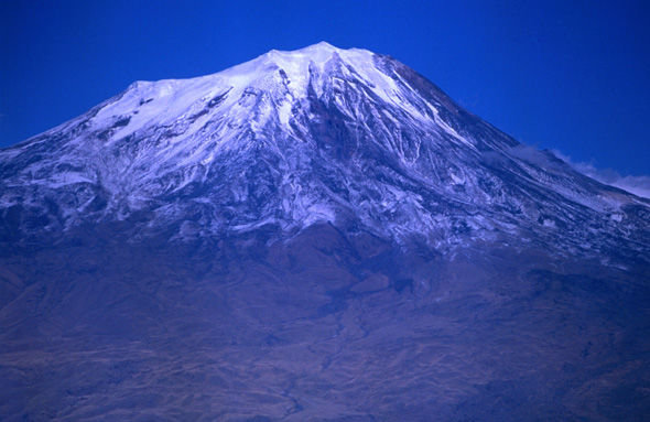 The structure was found on Mount Ararat