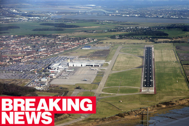 Liverpool Airport said travellers could be affected by the power failure