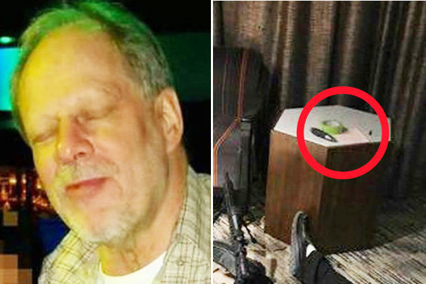 Stephen Paddock's note left in his hotel room has been decoded