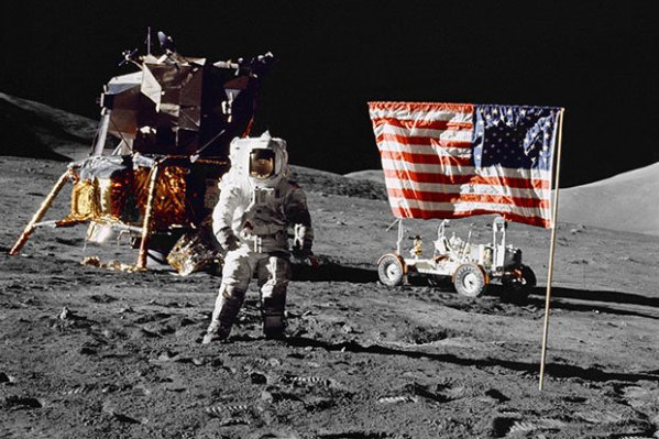 Moon landing fake: Claims 'NASA admitted 1969 mission is ...