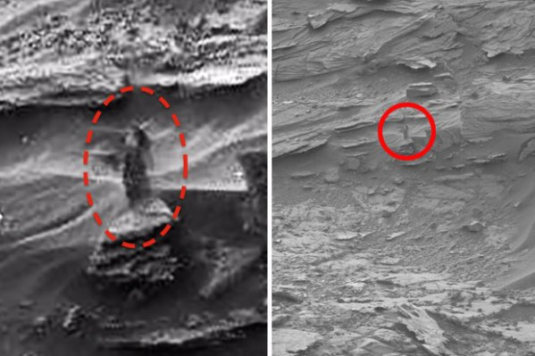 Conspiracists claim NASA photo shows alien spaceship on ...