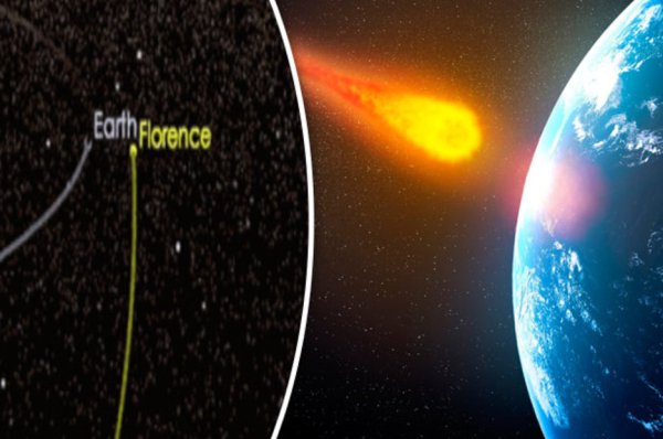 Earth asteroid: Three mile wide space rock set to narrowly ...