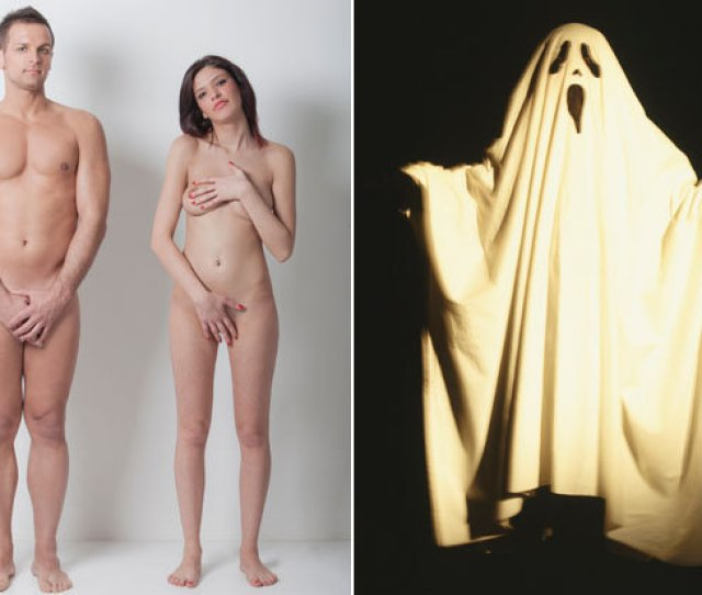 A Naked Couple And A Ghost