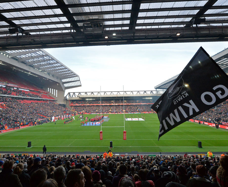 Liverpool News Anfield Hosts Four Nations Final Between Australia And New Zealand Daily Star