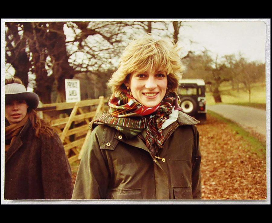 Princess Diana with Lady Sarah Armstrong-Jones