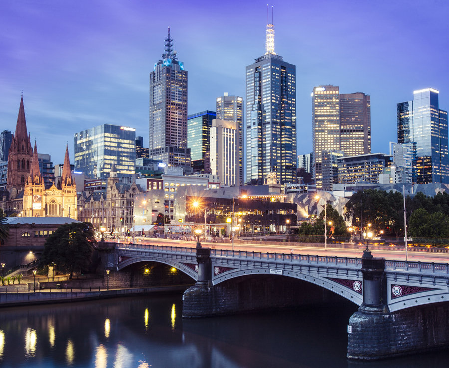 January: Melbourne, Australia - By visiting in January you get to take advantage of Melbournes low rates between the Christmas period and the Australian Open. You will also be able to experience an Australian summer