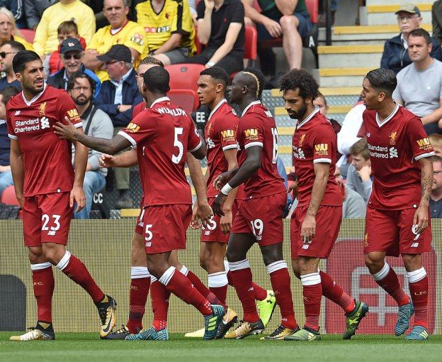 10. Liverpool - 829