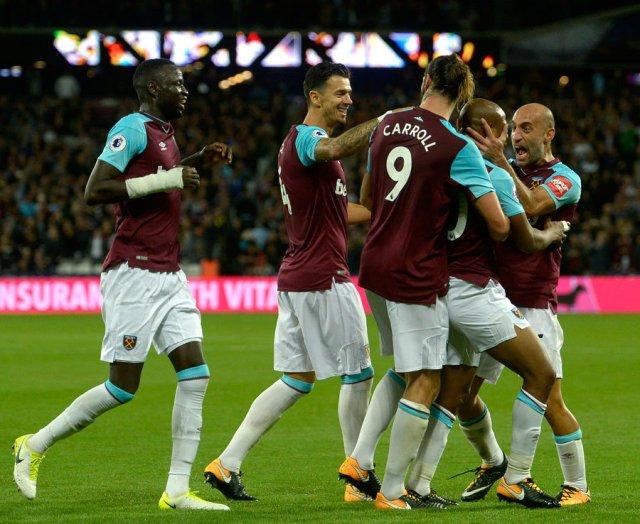 7. West Ham - 1,214