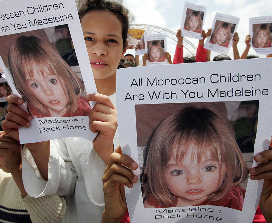 There were 8 potential sightings of Maddie in Morocco. It's possible she could have been trafficked there