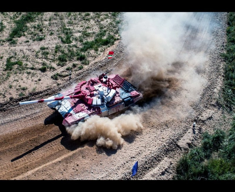 2017 Army Games: Tank Biathlon Semifinals