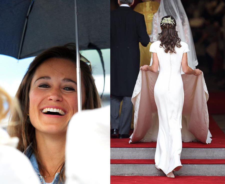Pippa Middleton shot into the public eye at her sister's wedding to Prince William