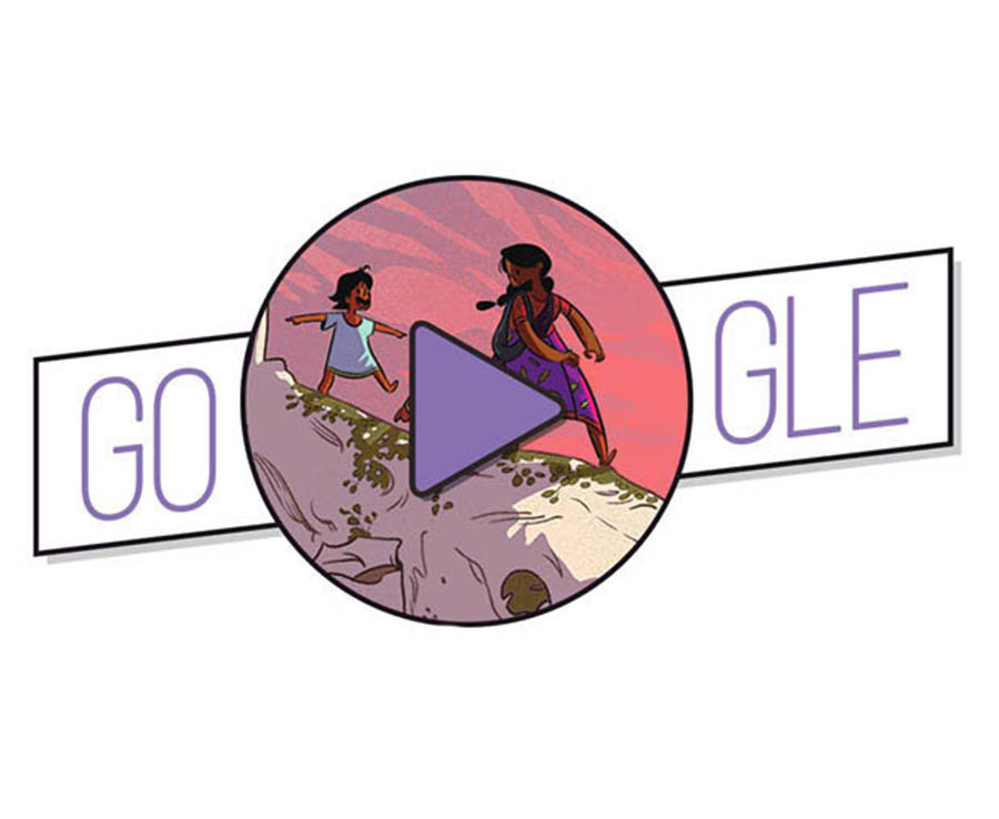 Google celebrates National Women's Day featuring several female artists