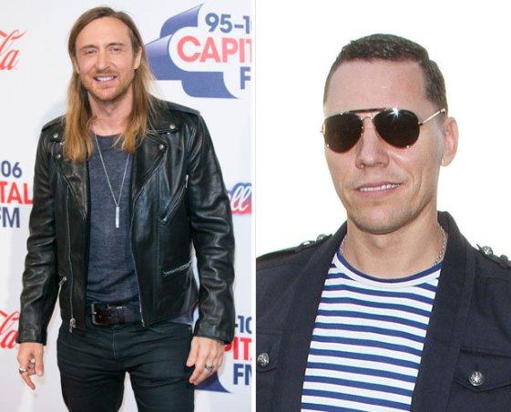David Guetta and Tiesto