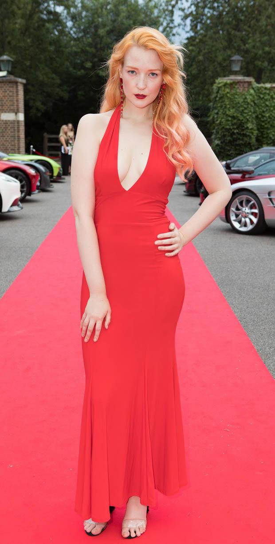 Britain\'s Next Top Model: Victoria Clay turns Jessica Rabbit in ...