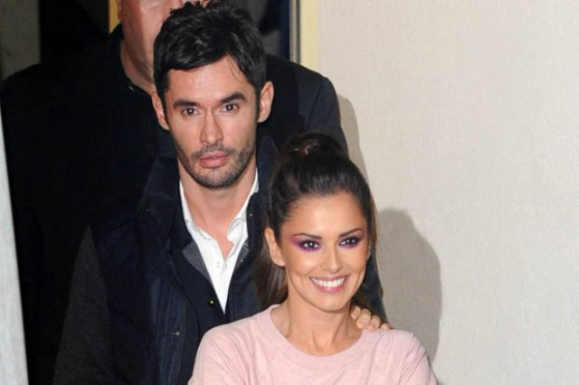 Cheryl Fernandez-Versini and her husband