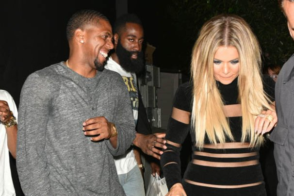 Khloe with ex-boyfriend James Harden