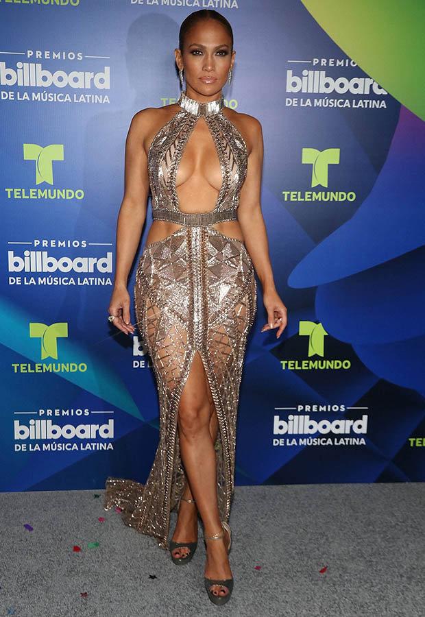 Jennifer Lopez at the Billboard Latin Music Awards