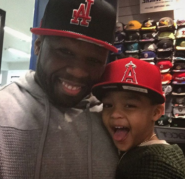 50 Cent and son Sire
