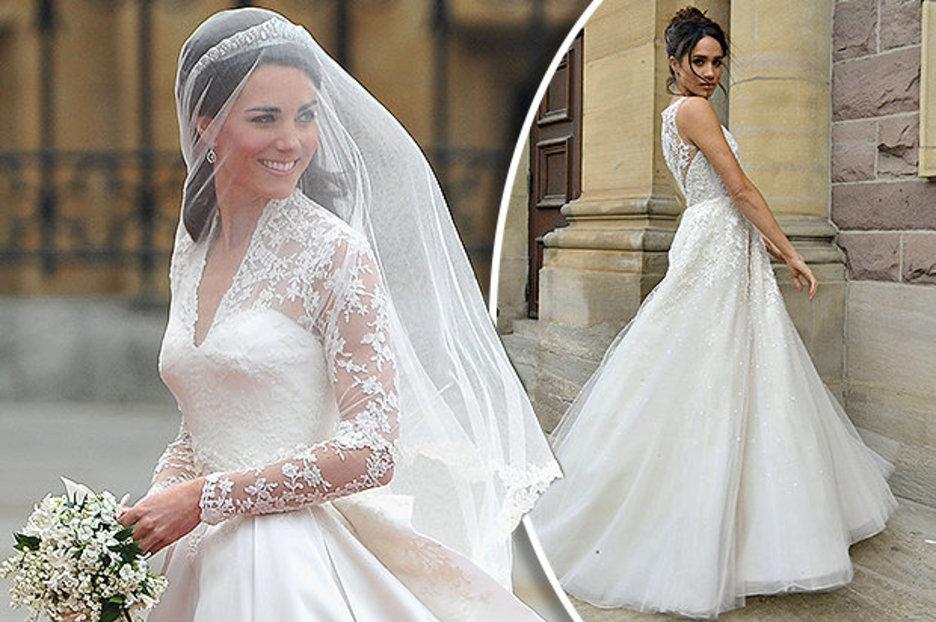 Meghan Markle Dress Wedding 1