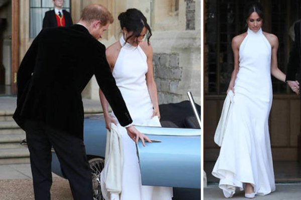 Meghan Markle's Royal Wedding dress is Stella McCartney ...