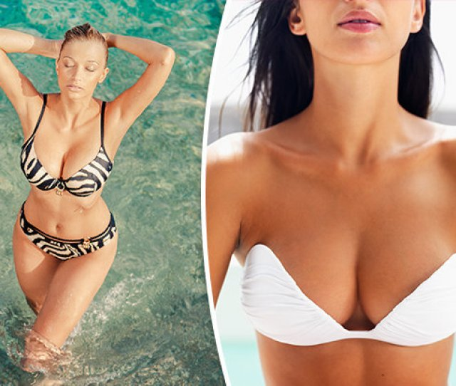 Best Bikinis For Women With Big Boobs We Did The Bounce Test And This Swimsuit Won
