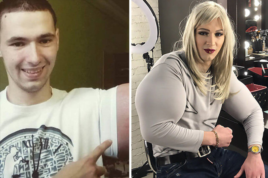 Ex Soldier With GIANT 24 Inch Biceps Slammed After Posting