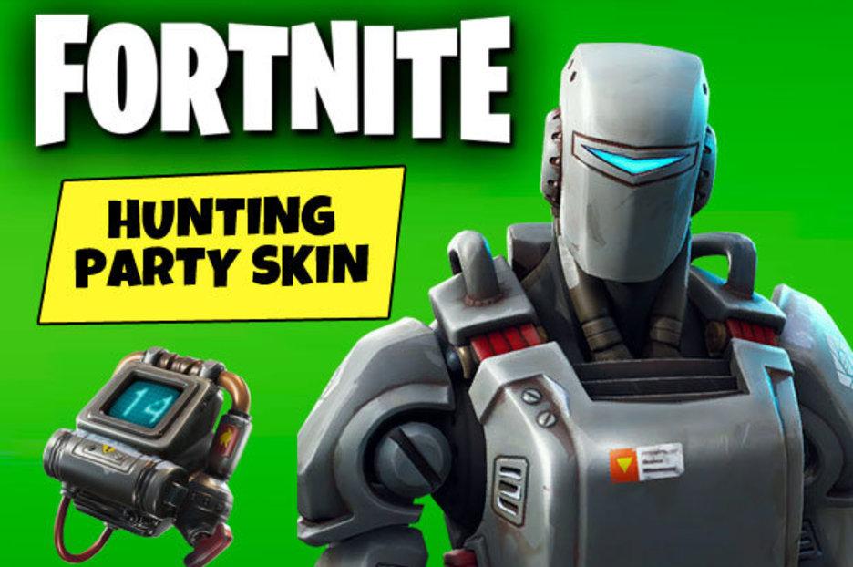 Fortnite HUNTING PARTY Skin Leaked Epic Games Loading
