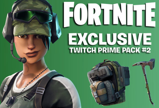 Fortnite Twitch Prime Pack #2 - PC PS4 XBOX One (READ ...