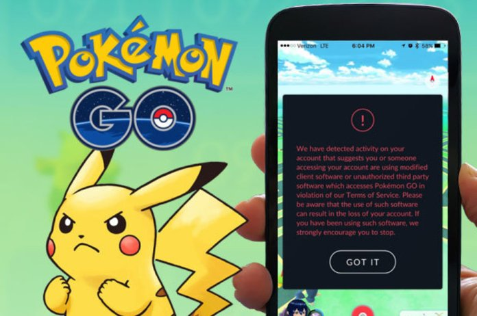 Image result for Pokemon go 3rd party warning