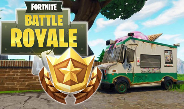 Fortnite Challenges: Week 5 Helicopter, Ice Cream Truck