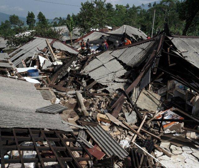 Indonesia Earthquake Devastation