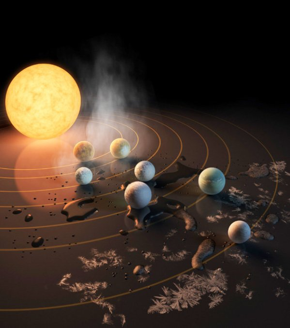 Trappist 1 star system has two planets perfect for alien